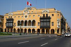 Sede de la Municipalidad de Lima. Plaza de Armas.