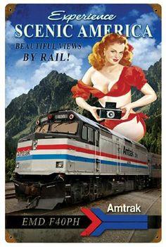 Amtrak...travel by train