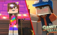 Minecraft: GRAVITY FALLS - CONHECENDO MABEL E DIPPER! (SÉRIE NOVA)