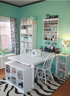 cool craftroom/office