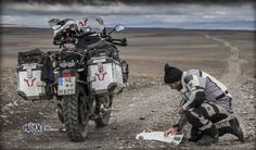 """Eric Peters is a professional travel journalist and film maker. He's ridden his motorcycle through Cuba, Iceland, Japan and more, and has worn HAIX boots for several years now, saying, """"They are simply perfect.""""  For more photos and more of his story, visit: https://fcld.me/EricPeters"""