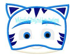 Catboy Face Applique