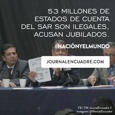 Revista Encuadre » 53 millones de estados de cuenta del SAR son ilegales, acusan jubilados.