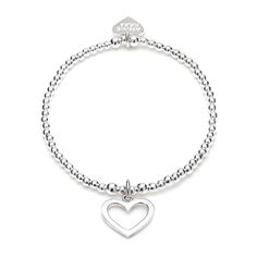 Hearts are always a must with a stunning 925 sterling silver Anna Bella Bracelet http://www.anniehaakdesigns.co.uk/anna-bella-bracelet