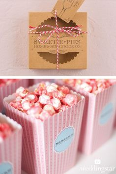 Plan your wedding on a budget and wow your guests with these amazing wedding favors under $1! http://blog.weddingstar.com/wedding-favors-for-under-2/ {wedding planning, wedding tips, budget wedding, wedding favor, edible favor, DIY wedding favor}