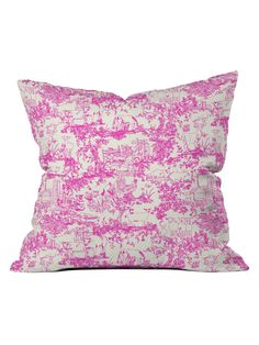 Farm Land Toile Throw Pillow from Decorative Pillows: Up to 80% Off on Gilt