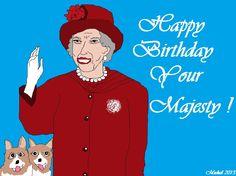 Queen Elizabeth´s Birthday 21 April 2013
