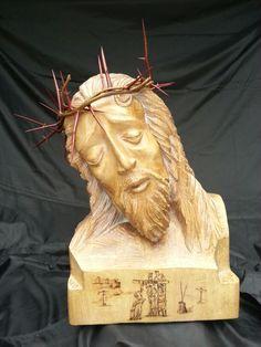 Cristo, talla en tilo Christ, carved in linden 2014