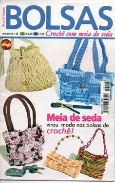 View album on Yandex. Knitting Books, Crochet Books, Tapestry Crochet, Thread Crochet, Crochet Handbags, Crochet Purses, Crochet Baby, Knit Crochet, Japanese Crochet
