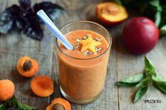 Рецепт смузи из нектарина и абрикоса