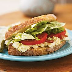 Egg Salad BLTs