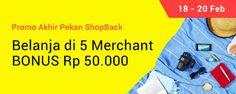 Promo Belanja 5 Merchant
