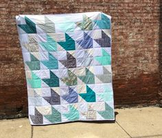 Lap of Luxe Quilt by thefabricstudio in Nashville