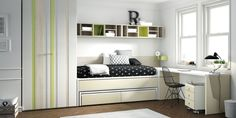 Planificador de dormitorios juveniles de Lagrama. Cambia los colores y tiradores de los acabados y estructuras de los muebles, encuentra el que más te guste