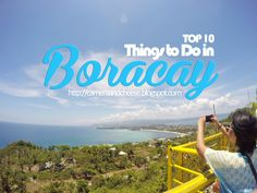Top 10 Things to Do in Boracay | camera & cheese