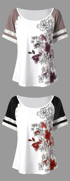 Fashion Summer Outfits Plus Size Shirts Ideas Plus Size Shirts, Plus Size Blouses, Shirt Diy, Tee Shirts, Outfits Plus Size, Blouses For Women, T Shirts For Women, Plus Size Kleidung, Mini Vestidos