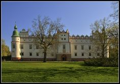 Castle in Baranow Sandomierski, Poland