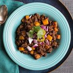 Black+bean+veggie+chili+for+a+crowd