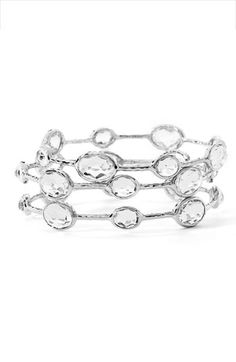 Ippolita Rock Candy Sterling Silver Bangles.  Goes with a LBD or jeans and a t-shirt.  Classic pieces for sure...definitely need a few of these.