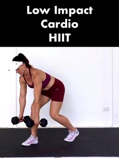 Torch calories fast with this high intensity, low impact cardio workout with weights 👉Do this workout along with me ove Low Impact Cardio Workout, Full Body Hiit Workout, Hiit Workout At Home, Intense Workout, Workout Videos, Cardio Hiit, Week Workout, Body Workouts, Training Fitness