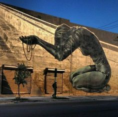 Street Art by Faith47, located in Miami, Florida