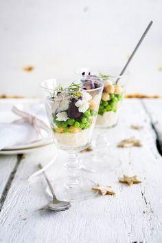Kikkererwtenslaatje met hummus en dille - Libelle Lekker