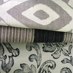 Grey mood |William Yeoward for Designers Guild | at Pedroso&Osório  #pedrosoeosorio #williamyeoward #greymood #pattern #textile  www.pedrosoeosorio.com Designers Guild, Home Collections, Linens, Textiles, Interiors, Wallpaper, Creative, Fabric, Wallpaper Desktop