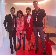 【イギリス】ヴァージン・アトランティック航空 客室乗務員 / Virgin Atlantic Airways cabin crew【UK】 Grace Perry, Suit Jacket, Breast, Suits, Photo And Video, Jackets, Instagram, Fashion, Down Jackets