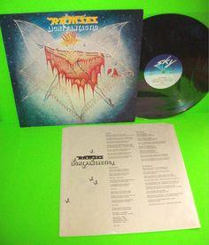 RAMSES LIGHT FANTASTIC 1981 VINTAGE VINYL LP MADE IN GERMANY RARE NM w/ INNER  #Ramses #LightFantastic #VinylLP #RareVinyl