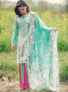 Amazing Firdous Lawn Eid Collection 2017 Designs for Girls