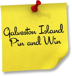 Galveston.com & Company is pleased to announce a month-long sweepstakes through its site on Pinterest.   Full details at  http://www.galveston.com/pinandwin/