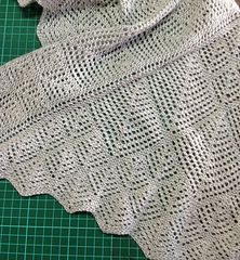 Unwind Shawl by Margaret Stove, would be beautiful in Red Barn Yarn Mink