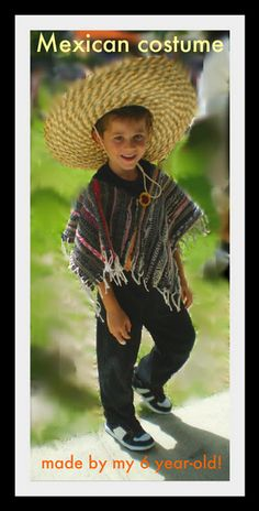 Mexican costume from an Ikea rug