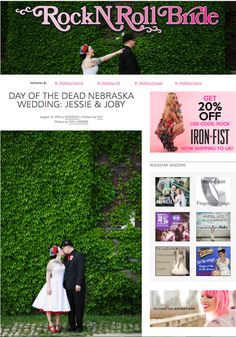 Rock N Roll Bride | Feature!! | Lincoln, NE Wedding Photographers » THE LEEKERS