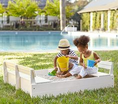 "42"" x 50"" Sandbox and Cover 