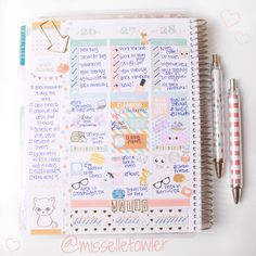 Elle Fowler Planner So cute and such a treasure