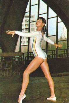 Young romanian photo gymnastics Girl