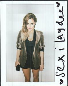 xfactorstyle:  Turn over for THE XTRA FACTOR Caroline wearing a sexi suit from The Kooples <3