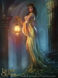 f Tiefling Sorcerer Robes Lantern undercity urban City Legend of the Cryptids 2013 lg Fantasy Art Women, High Fantasy, Fantasy Rpg, Dark Fantasy Art, Medieval Fantasy, Fantasy Girl, Fantasy Artwork, Fantasy Character Design, Character Inspiration