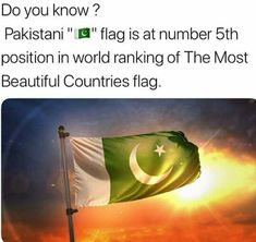 It's number 1 in our hearts 🇵🇰 Happy Independence Day Pakistan, Independence Day Pictures, Weird Facts, Crazy Facts, Best Army, Pakistan Army, Did You Know Facts, Army Love, Muhammad Ali