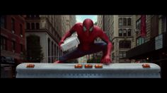 The Amazing Spider-Man 2, TV commercial for UPS. 2014.