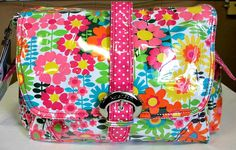 Kalencom Girly Girl Diaper Bag Style 2960 $79.99