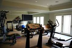 gym room at home