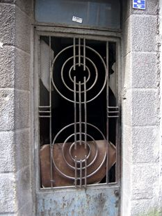 art deco architecture | Art Deco grille in Istanbul, Turkey, from Art Deco Ireland.