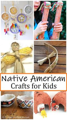 Teaching kids about the earliest Americans? These Native American crafts for kids can help bring history alive. #kidscrafts #teachinghistory #Thanksgivingcrafts
