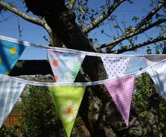 Fabric Bunting by Devon Bunting