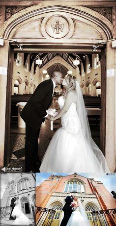 Linda & Dharell's August 2015 #wedding at the Teaneck Marriott at Glenpointe, St. John the Evangelist Church, and Studio 450! | photo by deanmichaelstudio.com | #njwedding #nywedding #NYC #love #summer #kiss #PSU #photography #DeanMichaelStudio
