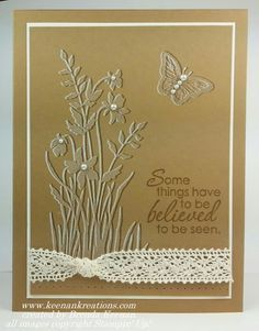 cards using the just believe stamp set - Google Search