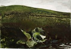 Spring on Kuerner's Hill by Andrew Wyeth