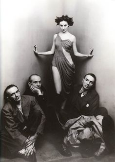 Vintage Photography: Ballet Society by Irving Penn 1948